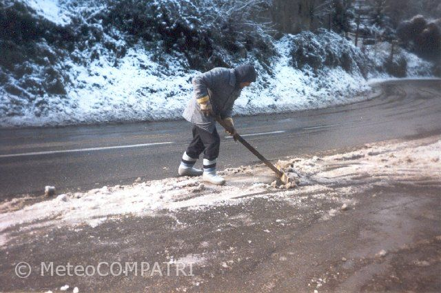You are browsing images from the article: La neve del 22 febbraio 1996 nei Castelli Romani