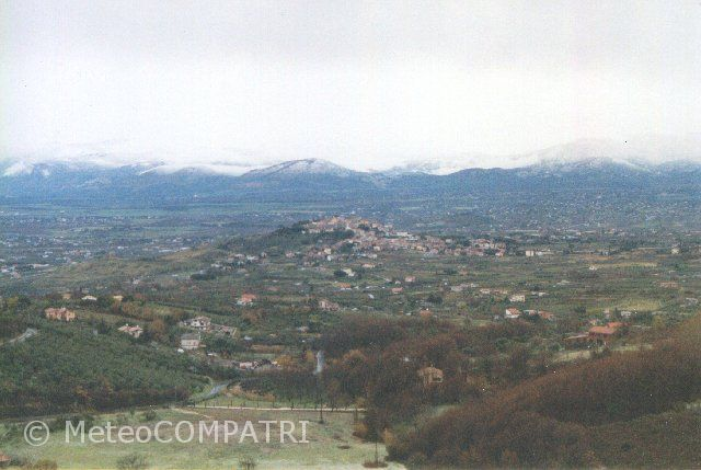 You are browsing images from the article: La neve del 24 marzo 1998 nei Castelli Romani