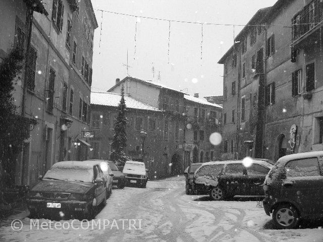 You are browsing images from the article: L'avvezione fredda del 29 e 30 dicembre 2005 nei Castelli Romani