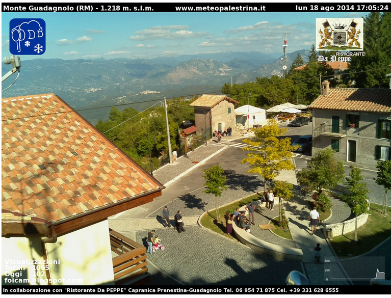 webcam guadagnolo