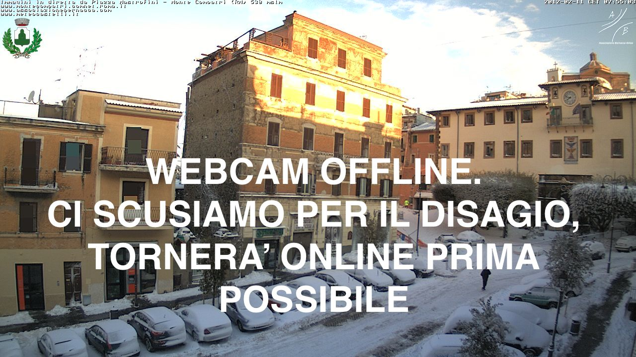 Webcam Montecompatri(Piazza)